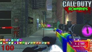MOST PERKS IN ONE MAP EVER - CALL OF DUTY CUSTOM ZOMBIES MOD GAMEPLAY! (Zombies Gameplay)