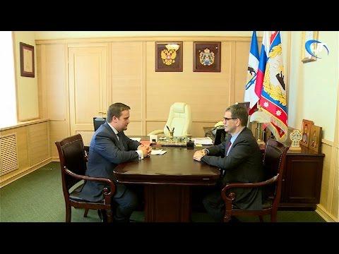 Власти области планируют расширить сотрудничество с общественной организацией «Деловая Россия»