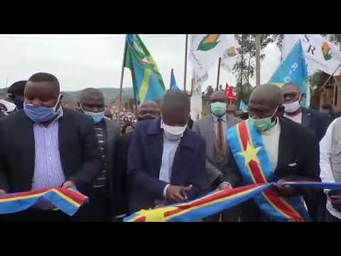 Inauguration de l'institut Kikuku en territoire de Rutshuru,chefferie de BWITO