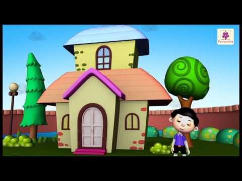 Video Mera Pyara Ghar   3D Rhyme For Kids   Periwinkle Baal Geet Mala   Hindi Poem #25 download in MP3, 3GP, MP4, WEBM, AVI, FLV January 2017