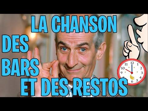 LA CHANSON DES BARS ET DES RESTOS