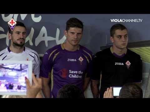 Pri Fiorentini predstavili drese za sezono 2014/15