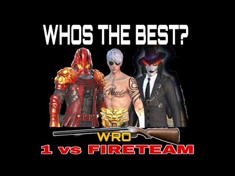 WHO'S THE KING OF WRO ? 1 VS FIRETEAM MONTAGE - ROS (SPHINX GAMING,DANNIELE GAMING,PRIVATE-PLORK)