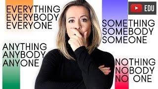 Something, Anybody, Everyone, No One | O Que Significam?
