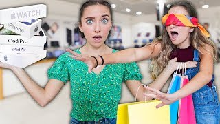 Video Buying EVERYTHING my TWIN Touches Blindfolded! *back to school* MP3, 3GP, MP4, WEBM, AVI, FLV September 2019