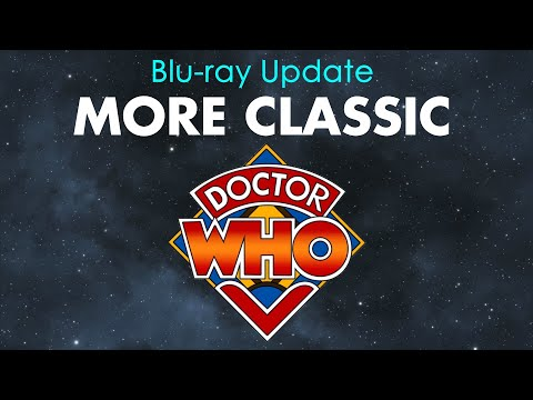 Blu-ray Update - More Classic Doctor Who!