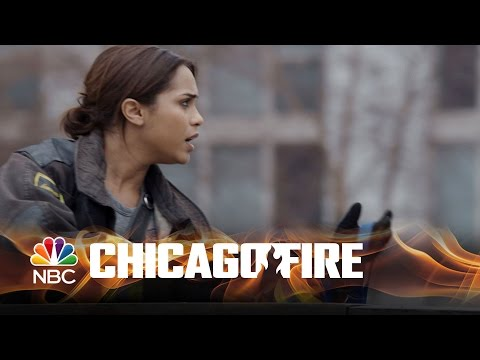 chicago fire - dawson's risky rescue! episode highlight