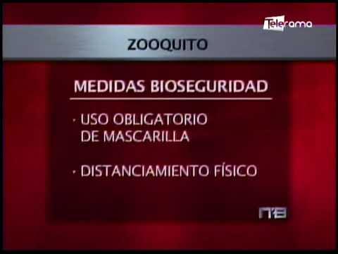 Zoológicos de Quito inició actividades con protocolos de bioseguridad