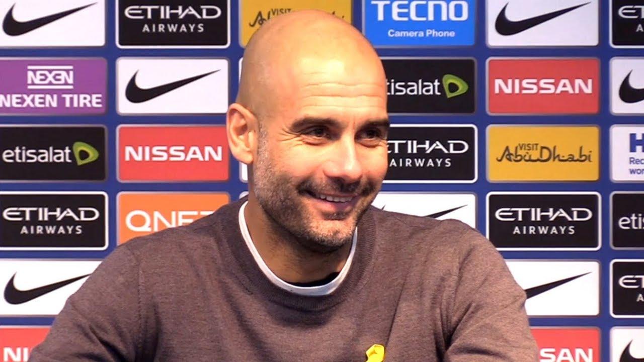 Манчестер Сити 4-1 Тоттенхэм - Пеп Гвардиола Пресс-конференция после матча