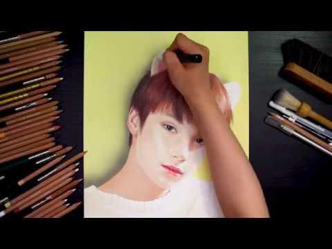 TXT (투모로우바이투게더) 'Sketching Film' - 휴닝카이 (HUENINGKAI) - Thời lượng: 93 giây.