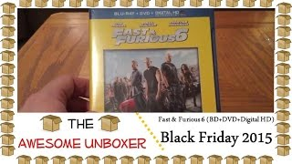 Nonton Fast and Furious 6 (BD + DVD + Digital HD) unboxing - Black Friday 2015 Film Subtitle Indonesia Streaming Movie Download
