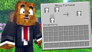 Minecraft But ALL The Item Recipes Are Randomized *Update* - Minecraft Scramble Craft #8 | JeromeASF