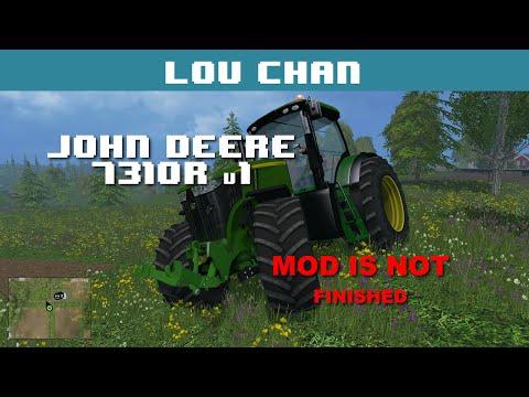 John Deere 7310R V1