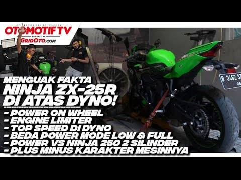 Dyno Test Ninja ZX-25R, 250 cc Power On Wheels Paling Gede! l Otomotif TV