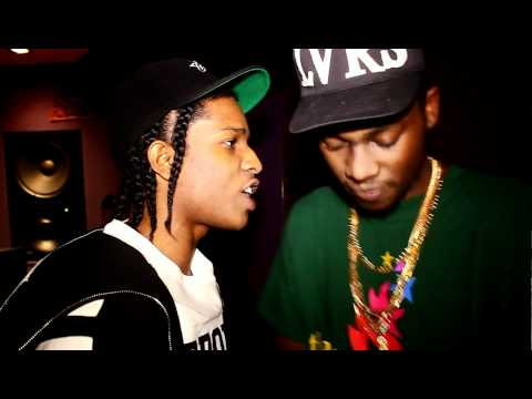 Theophilus London And Asap Rocky Working On Big $pender In NYC (Prod. By Dj Carnage)