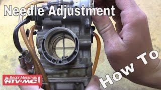 6. How To Adjust The Needle In Your Motorcycle Or ATV Carburetor