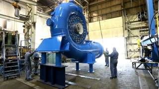 Video The Fabrication and Assembly of an 8.5MW Francis Turbine at Ebco Industries MP3, 3GP, MP4, WEBM, AVI, FLV November 2018