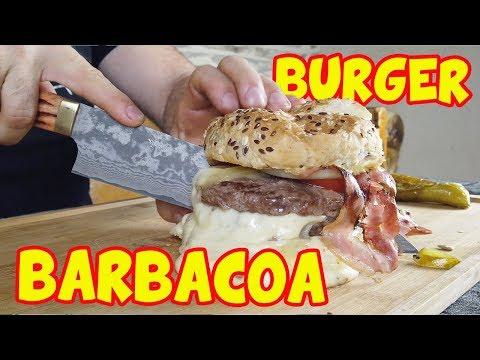 Videos caseros - BURGER de WAGYU CASERA en mi NUEVA BARBACOA WEBER MASTERTOUCH