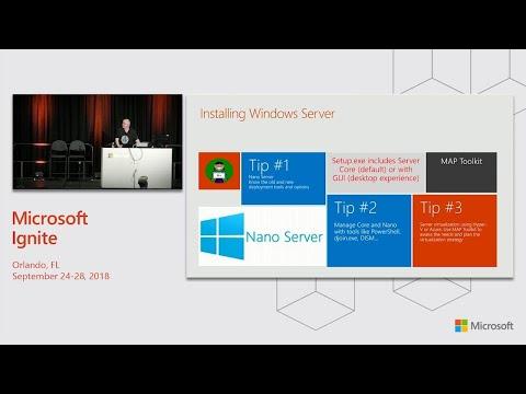 Exam 70-740 prep - Installation storage and compute with Windows Server 2016 - BRK2435