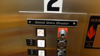 Reston (VA) United States  city photos : Vintage U.S. Hydraulic Elevators @ 1861 Wiehle Ave, Reston, VA