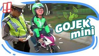 Video JADI GOJEK MINI EH KE RAZIA POLISI !! MP3, 3GP, MP4, WEBM, AVI, FLV September 2019