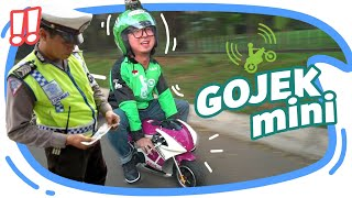 Video JADI GOJEK MINI EH KE RAZIA POLISI !! MP3, 3GP, MP4, WEBM, AVI, FLV Juni 2019