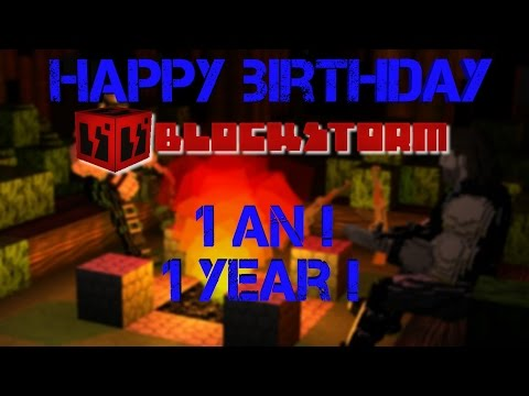 1 an de Blockstorm : la vidéo anniversaire !