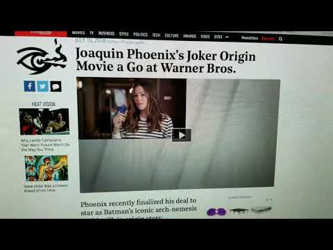 The Joaquin Phoenix Joker Movie is Official