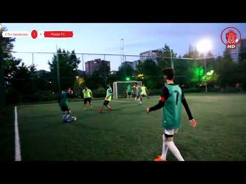 V For Gecekondu  - Piyade F.C.  V For Gecekondu 1-4 Piyade F.C Maçın Özeti