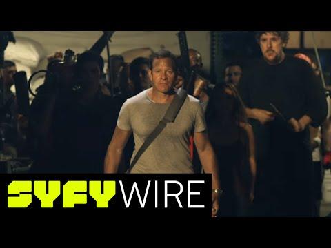 How Steve Guttenberg got the Police Academy Cast Back Together for 'Lavantula' | SYFY WIRE