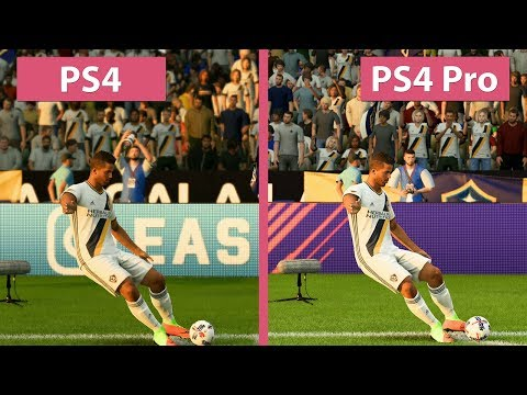FIFA 18 – PS4 Vs. PS4 Pro 4K Graphics Comparison