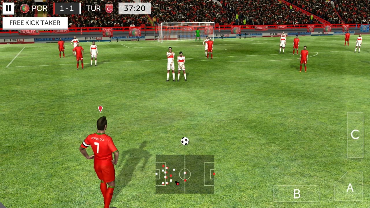 Descargar First Touch Soccer 2015 Android Gameplay #5 para celular #Android