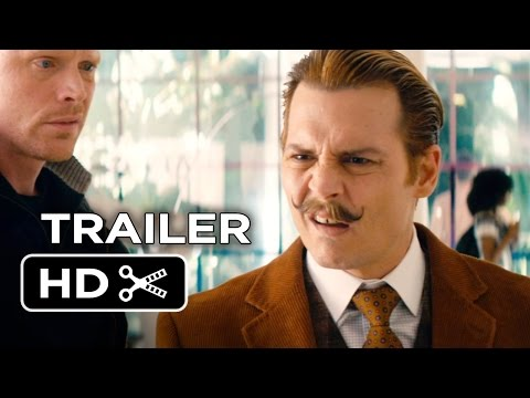 MOVIES: Mortdecai - Teaser Trailer featuring Johnny Depp, Gwyneth Paltrow and Ewan McGregor