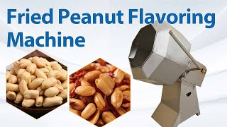 Automatic Fried Peanuts Snack Food Flavoring Machine| Chips Spice Blending Mixing Mixer Machine youtube video
