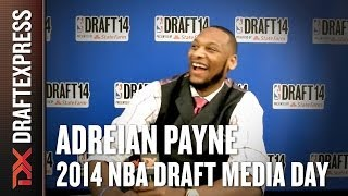 Adreian Payne - 2014 NBA Draft Media Day