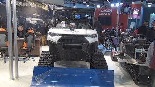 9. Polaris Ranger XP 1000 EPS (2019) Exterior and Interior