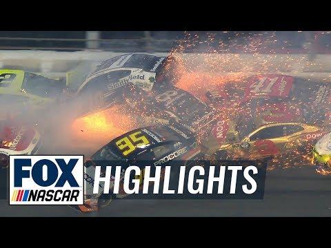 Massive Daytona 500 crash takes out 21 cars in 'The Big One' | 2019 DAYTONA 500