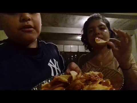 El reto de las papitas papus/ alan juarez ft. Mandy Flores
