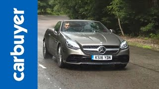 Mercedes SLC convertible 2016 review – Carbuyer by Carbuyer