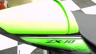3. 2010 Kawasaki ZX10R Ninja Green - used motorcycle for sale, Eden Prairie, MN