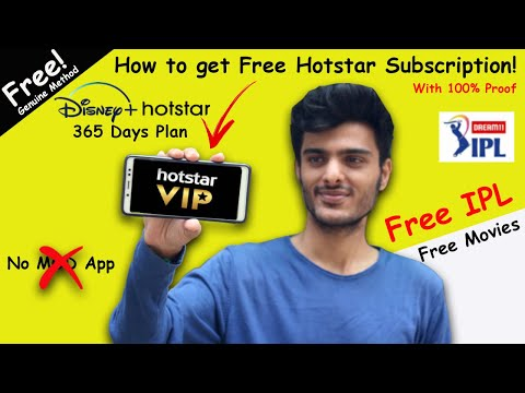 How to get Free Hotstar Subscription | Hotstar Premium Free | Hotstar VIP Free |
