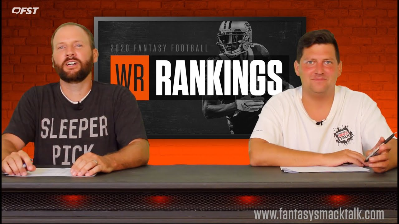 2020 Fantasy Football Wide Receiver Tiers and Rankings thumbnail