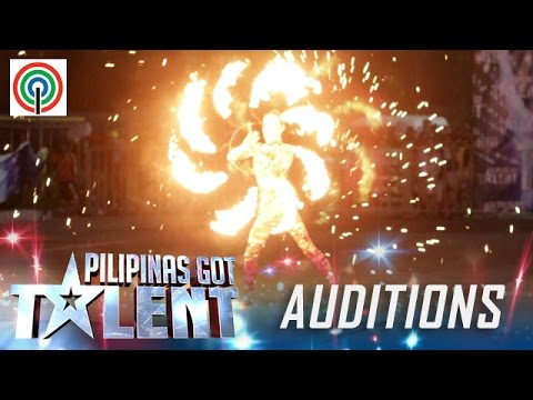 Pilipinas Got Talent Season 5 Auditions: Amazing Pyra – Fire Dancer