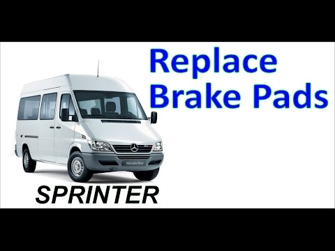 How To Replace Brake Pads on mercedes