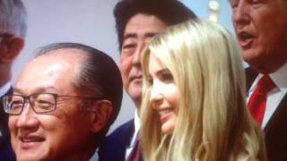 """On """"Day 170"""" of the Donald Trump White House Regime we find out that Ivanka fills in for Daddy Trump at a G20 Meeting, wtf ?  About 5 days after Ivanka and Jared Kushner had secret Meetings with George Soros and the Koch Brothers she is representing over 300 Million Americans at the G20 in Germany, wtf ?   She is unelected, unqualified and simply way to Vain to understand Nepotism Laws !  Has the Line of Succession in America Changed to Daddy to Daughter ?   Do the Trumps think they are a Monarchy ?  Or are they just Delusional ?   How does Congress feel about Ivanka representing America ?   How does the Military feel about Fighting for Ivanka ?  What would the Bible Thumpers think is Clinton put Chelsea in a G20 Meeting ?  What would all the delusional Trump supporter think if Obama put Malia in a G20 seat representing America ?  lmao"""