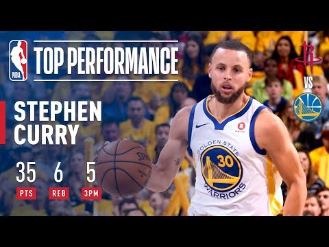Stephen Curry Goes OFF In The 3rd Quarter 7-7 FGM! To Help Lead Dubs To Game 3 Victory (видео)
