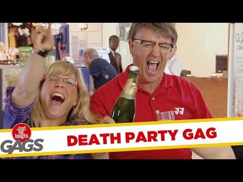 Troll Hài Hước - Death Party Prank