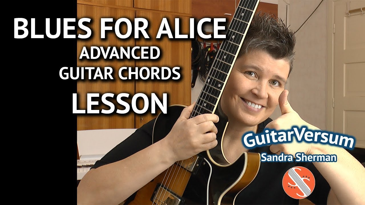 BLUES FOR ALICE – Guitar Chords LESSON –  Advanced Jazz Chords