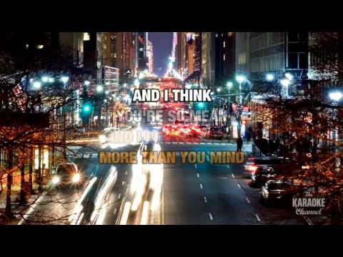 If You're Gone in the style of Matchbox Twenty | Karaoke with Lyrics