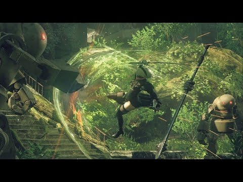 Nier: Automata - Debut Gameplay Trailer